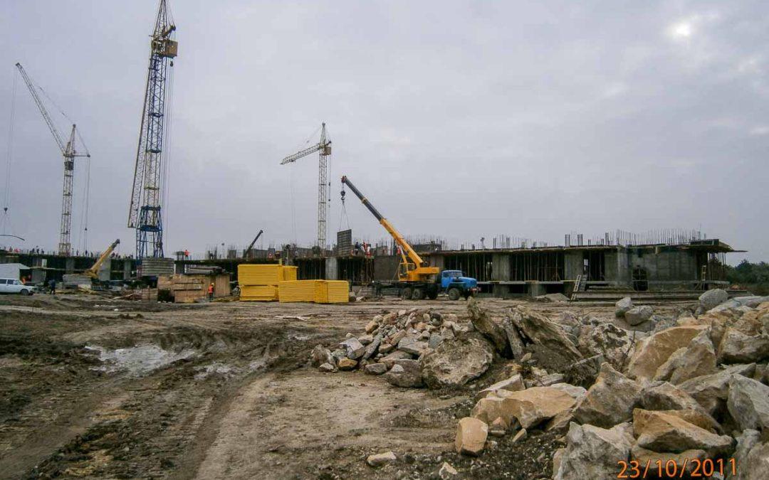 Компания «Кавказ Монолит Строй» приступила к выполнению работ на объекте «Санаторий-профилакторий «Юнга»