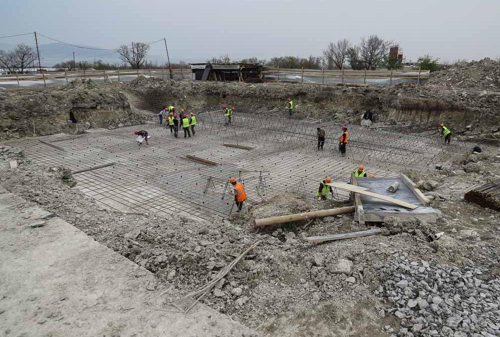 Компания «Кавказ Монолит Строй» приступила к строительству дома №4 по ГП 16 микрорайона