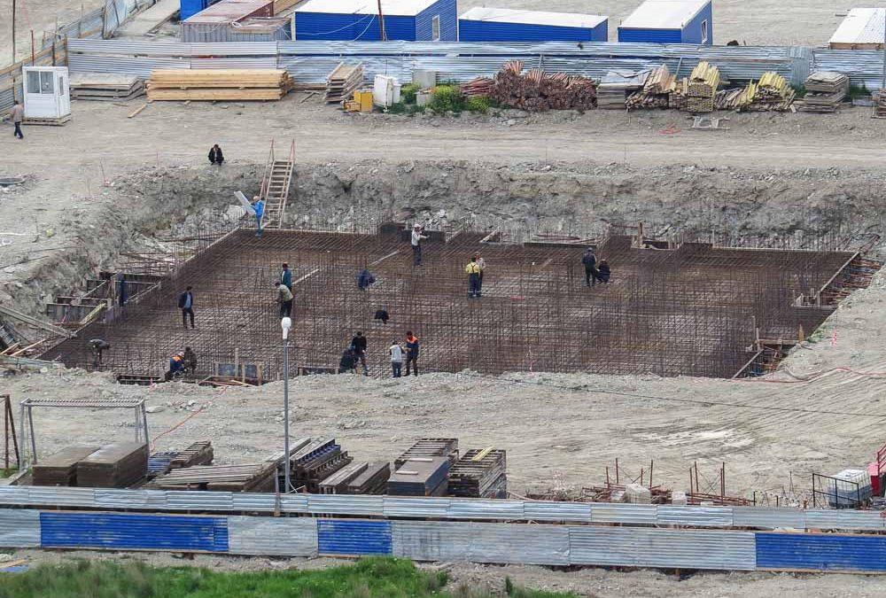Компания «Кавказ Монолит Строй» приступила к строительству дома №8 по ГП 16 микрорайона